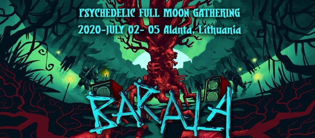 Party Flyer Barala - Full Moon Psychedelic Gathering 22 Jul '21, 12:00