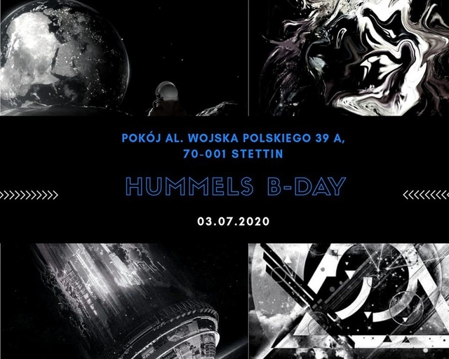 Party Flyer Psychedelic City / Hummels B-Day 3 Jul '20, 21:00