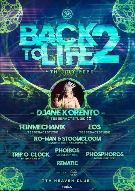 Party Flyer Back to life - Vol. 2 4 Jul '20, 16:30