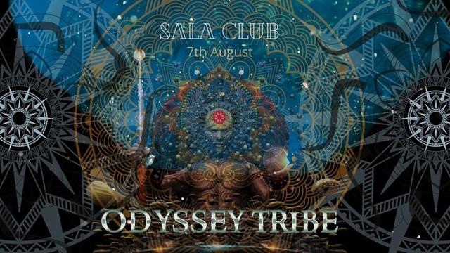 Party Flyer Odyssey Tribe   Sala club 7 Aug '20, 22:00