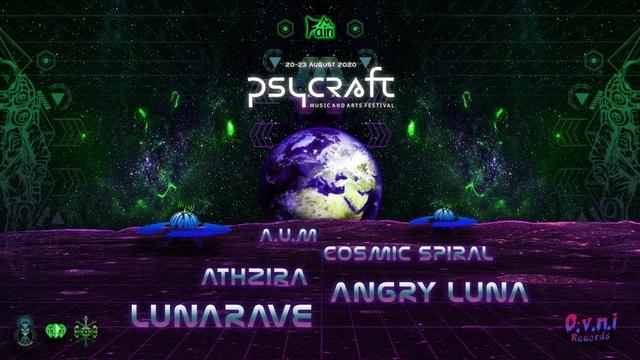 Psycraft Festival - Overview Effect 20 Aug '21, 14:00