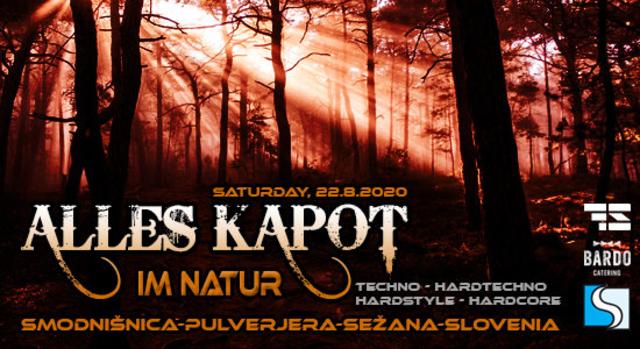 Party Flyer Alles Kapot - Im Natur 22 Aug '20, 12:00