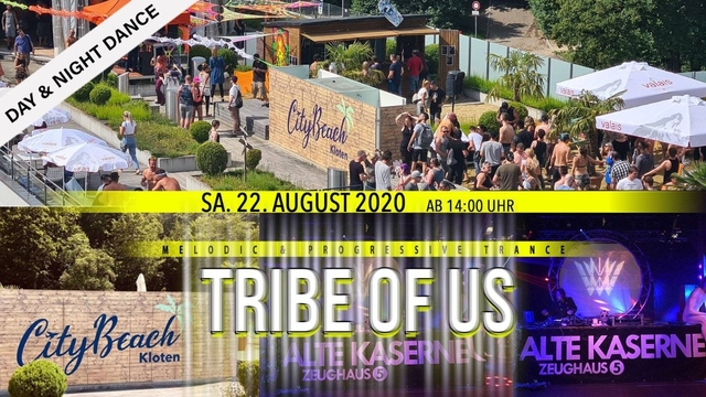 Party Flyer Tribe of Us - Day & Night Dance 22 Aug '20, 14:00