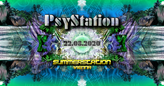 Party Flyer Vienna PsyStation 22 Aug '20, 14:00