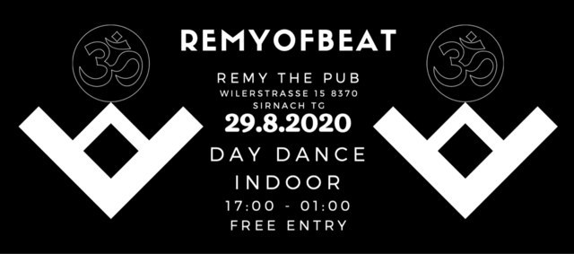 Remyofbeat Day Dance (INDOOR) 29 Aug '20, 17:00