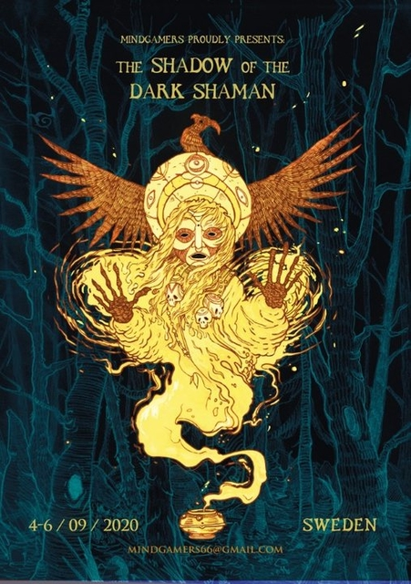 Party Flyer The Shadow Of The Dark Shaman By MindGamers 4 Sep '20, 20:00