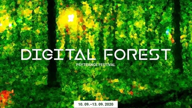 Party Flyer Digital Forest - Psychedelic Trance Music Festival 2020 10 Sep '20, 18:00