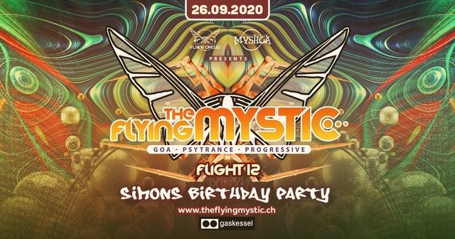 The Flying Mystic - 12 - 26 Sep '20, 23:00