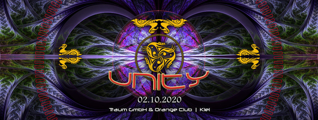 Party Flyer UNITY 2 Oct '20, 23:00