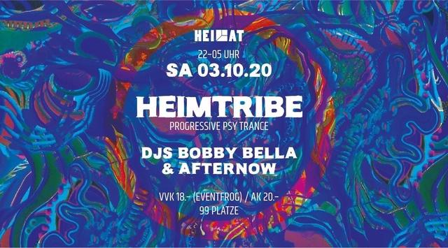 Party Flyer HEIMTRIBE 3 Oct '20, 22:00
