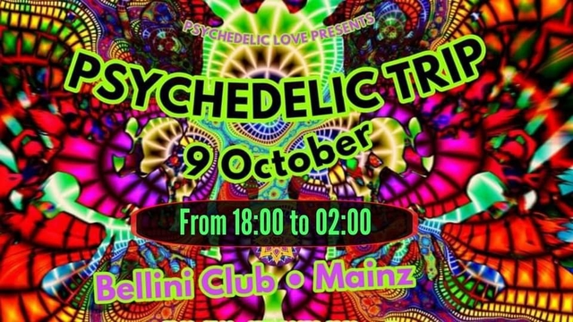 Party Flyer PSYCHEDELIC TRIP 9 Oct '20, 23:00