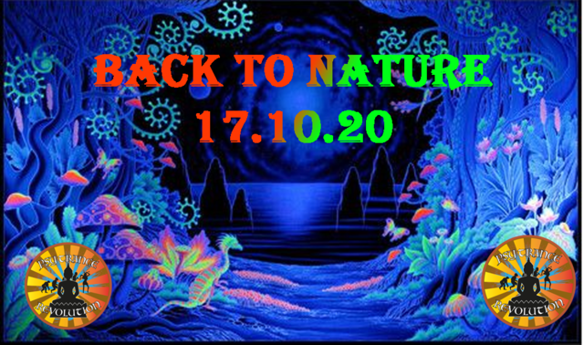 Party Flyer ॐBack to Natureॐ 17 Oct '20, 18:00
