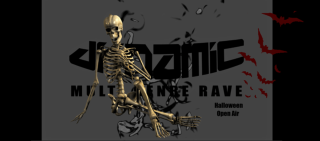 Party Flyer DYNaMIC Halloween OpenAir 31 Oct '20, 17:00