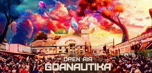 Party Flyer Goanautika Open Air Halloween/w. Bubble 31 Oct '20, 14:00