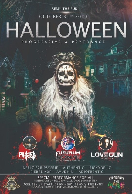 Party Flyer Remy Halloween 31 Oct '20, 17:00