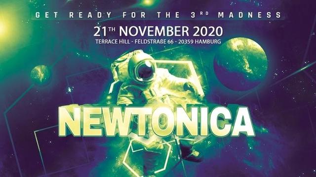 Party Flyer Newtonica 2020 21 Nov '20, 21:00