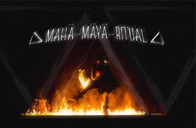 Party Flyer Mahā-māyā Ritual 14 May '21, 16:30