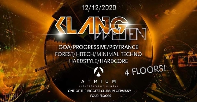 Party Flyer Klangwelten Das Indoor Festival in Kiel 12 Dec '20, 22:00