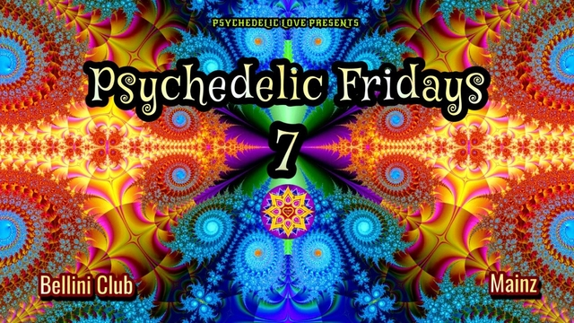 Party Flyer Psychedelic fridays #7 4 Jun '21, 23:00
