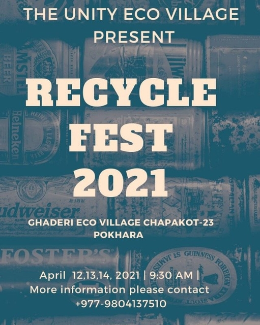 Party Flyer RECYCLE FEST 2021 12 Apr '21, 11:30