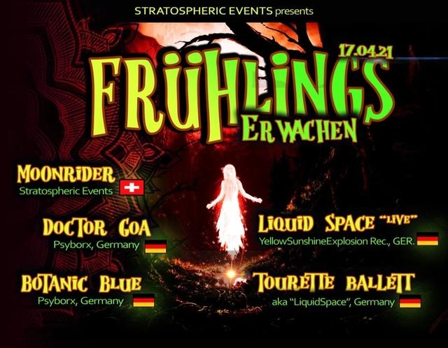 Party Flyer Frühlingserwachen 17 Apr '21, 22:00