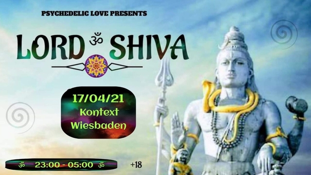 Party Flyer LORD ॐ SHIVA 17 Apr '21, 23:00