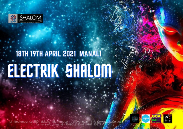 Party Flyer Electrik Shalom teaser 18 Apr '21, 10:00