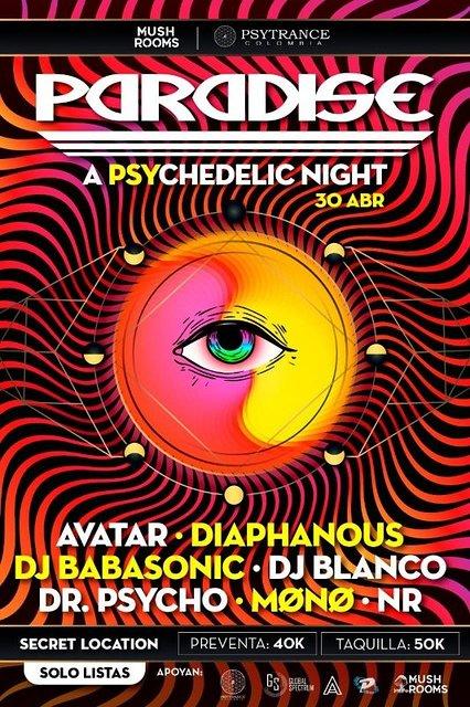 Party Flyer Paradise 30 Apr '21, 21:00