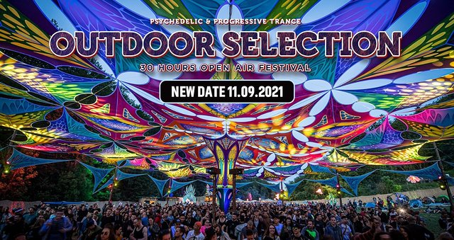 Party Flyer Outdoor Selection Open Air Festival 2021 11 Sep '21, 12:00