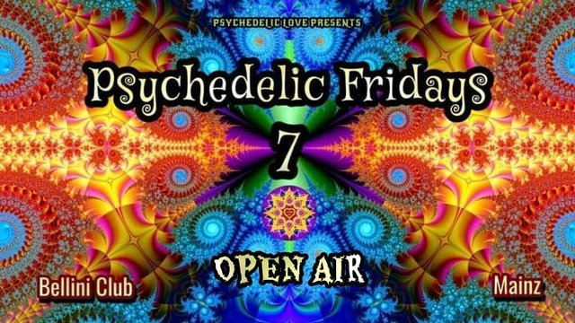 Party Flyer Psychedelic fridays #7 (open air) 2 Jul '21, 19:00
