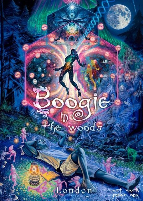 Party Flyer Boogie in the woods 3 Jul '21, 22:00