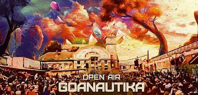 Party Flyer Goanautika is Back /w. Querox 4 Jul '21, 14:00