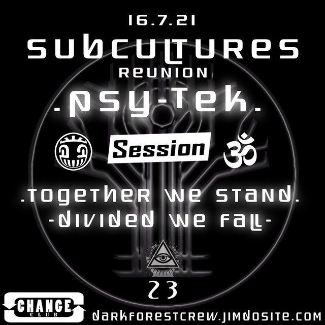 Party Flyer Subculture´s Reunion 16 Jul '21, 22:00