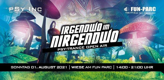IRGENDWO IM NIRGENDWO | Dayclub Open Air 1 Aug '21, 14:00