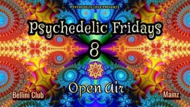 Psychedelic Fridays #8 - OPEN AIR 6 Aug '21, 19:00