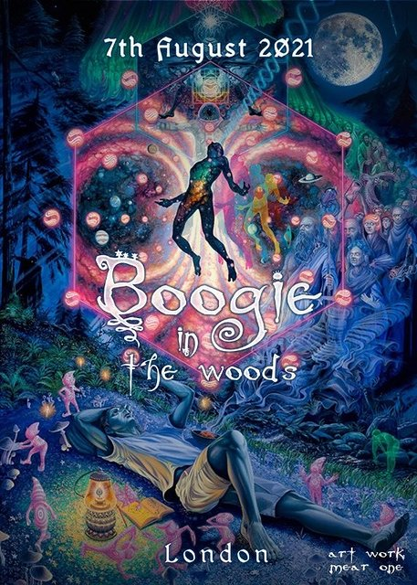 Boogie in the woods **UPDATED** 7 Aug '21, 22:00