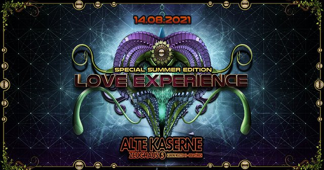 **LOVE EXPERIENCE - Special Summer Edition** 14 Aug '21, 22:30