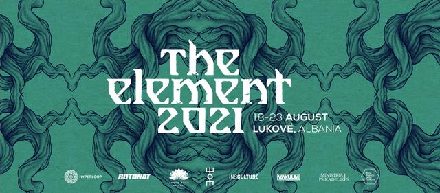 Party Flyer The Element Festival 2021 18 Aug '21, 18:00