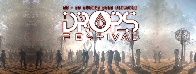 Party Flyer DROPS festival 2021 25 Aug '21, 22:00