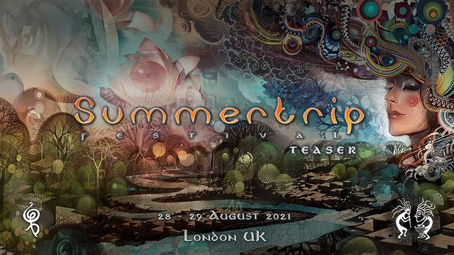 Party Flyer Summertrip Festival - London Teaser 28 Aug '21, 23:00
