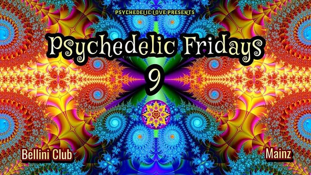 Psychedelic Fridays #9 3 Sep '21, 23:00