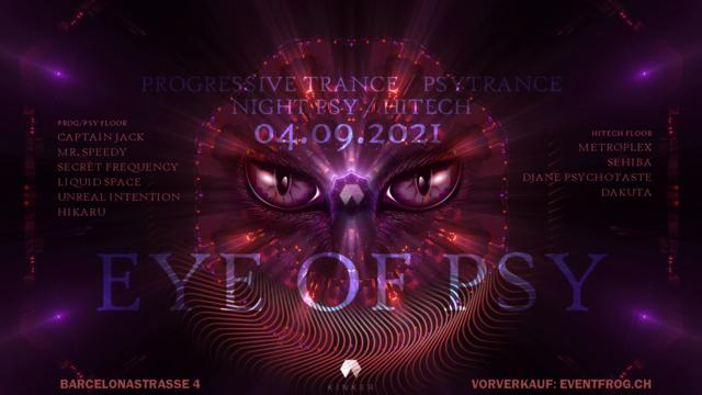 Eye of Psy Jubiläum 4 Sep '21, 23:00