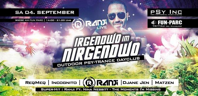 IRGENDWO IM NIRGENDWO | Ranji Live Open Air 4 Sep '21, 14:00