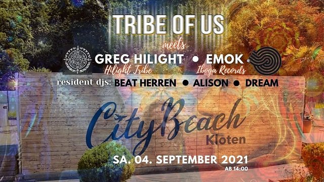 TRIBE OF US - DAY DANCE 4 Sep '21, 14:00