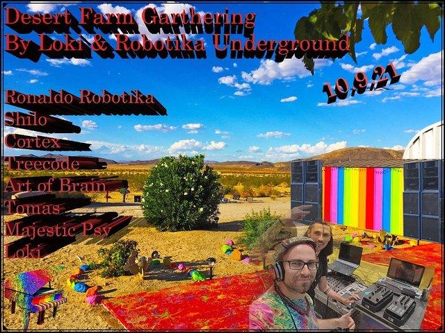 Desert Farm Gathering 10 Sep '21, 08:00