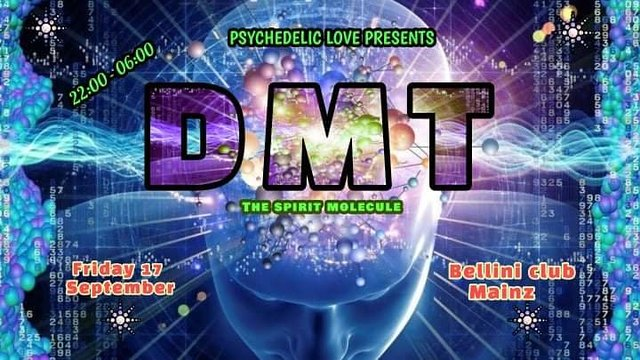 Party Flyer DMT - the spirit molecule 17 Sep '21, 22:00