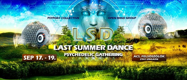 Party Flyer Last Summer Dance - Psychedelic Gathering 17 Sep '21, 16:00