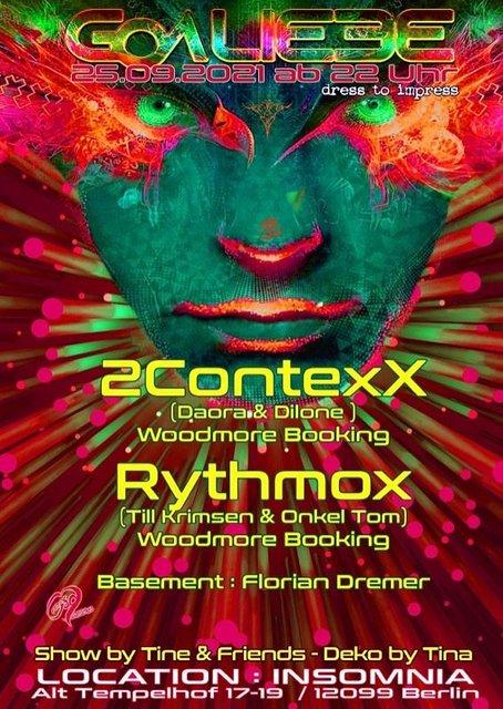 Party Flyer GOA LIEBE 25 Sep '21, 22:00