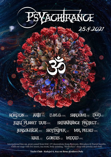 Party Flyer PsYachTrance Launching sequence!! 25 Sep '21, 22:00