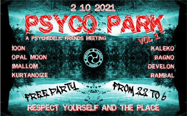 PSYCO PARK vol.1 2 Oct '21, 22:00